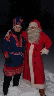 Шаман (это Ванюха) и Санта Клаус