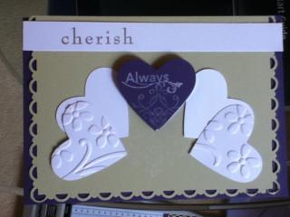 Cherish always card