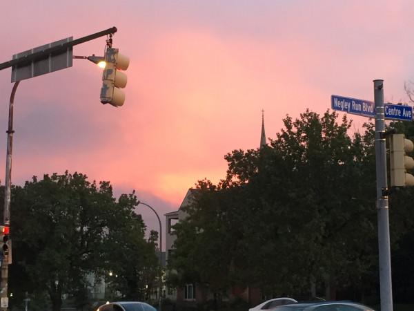 sunset east