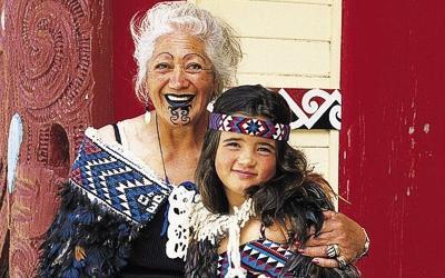 семья маори