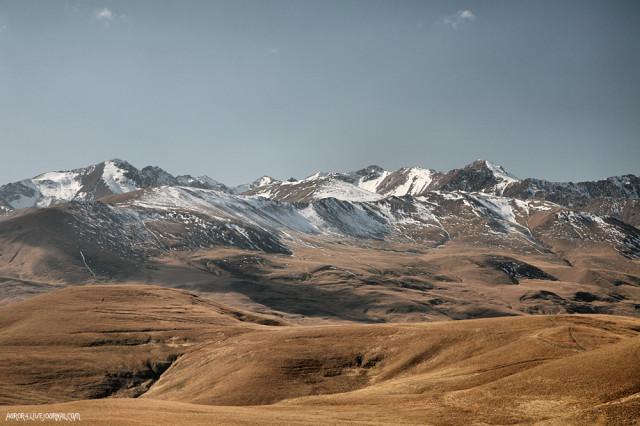 Главный Кавказский хребет западнее Эльбруса