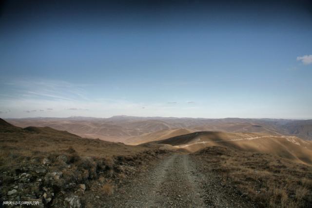 Вид на предгорья Эльбруса