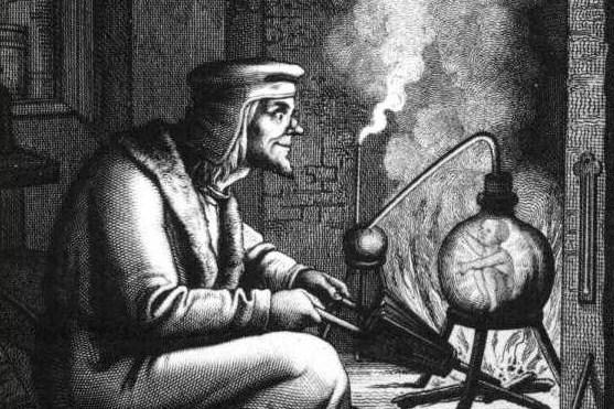 Доктор Фауст - з гравюри XIX ст.
