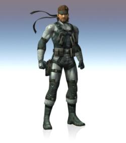 Super Smash Bros. Brawl - Snake