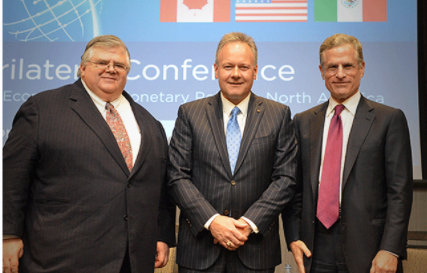 Augustin. Carstens is on the left. He is perhaps the most important person you have never heard about