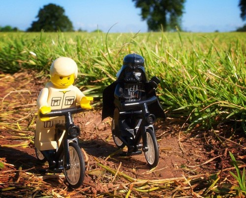 Lego, Star wars, bike
