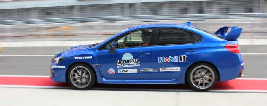 Subaru Impresa WRX STI пуля