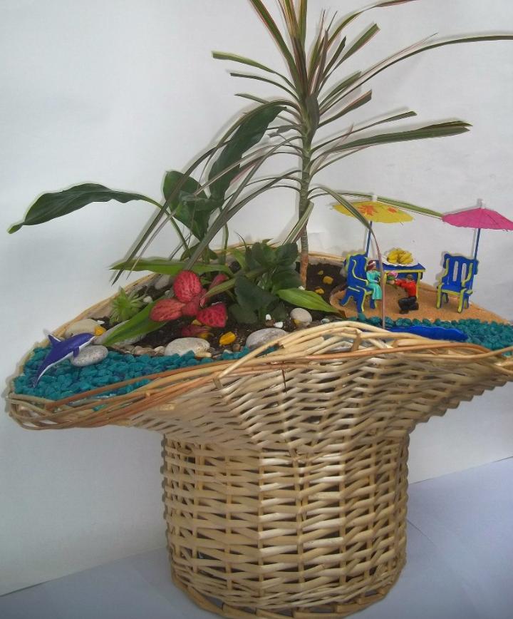 Мини-сад для любителя летнего отдыха