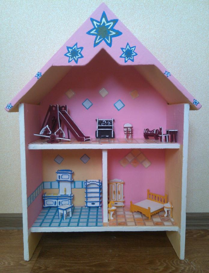 Домик для маленьких куколок