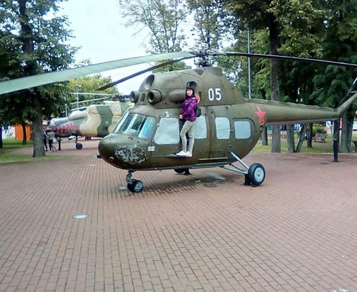 Парк военной техники на Площади победы