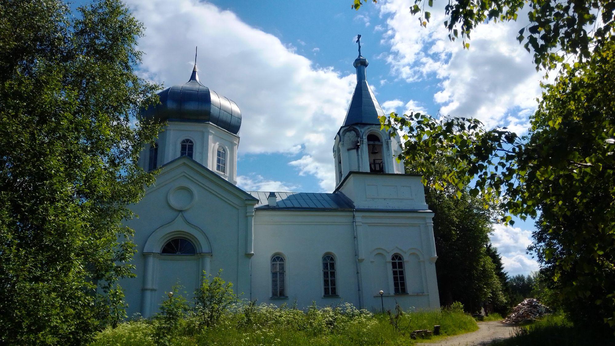 Церковь Параскевы Пятницы. 2020 год.