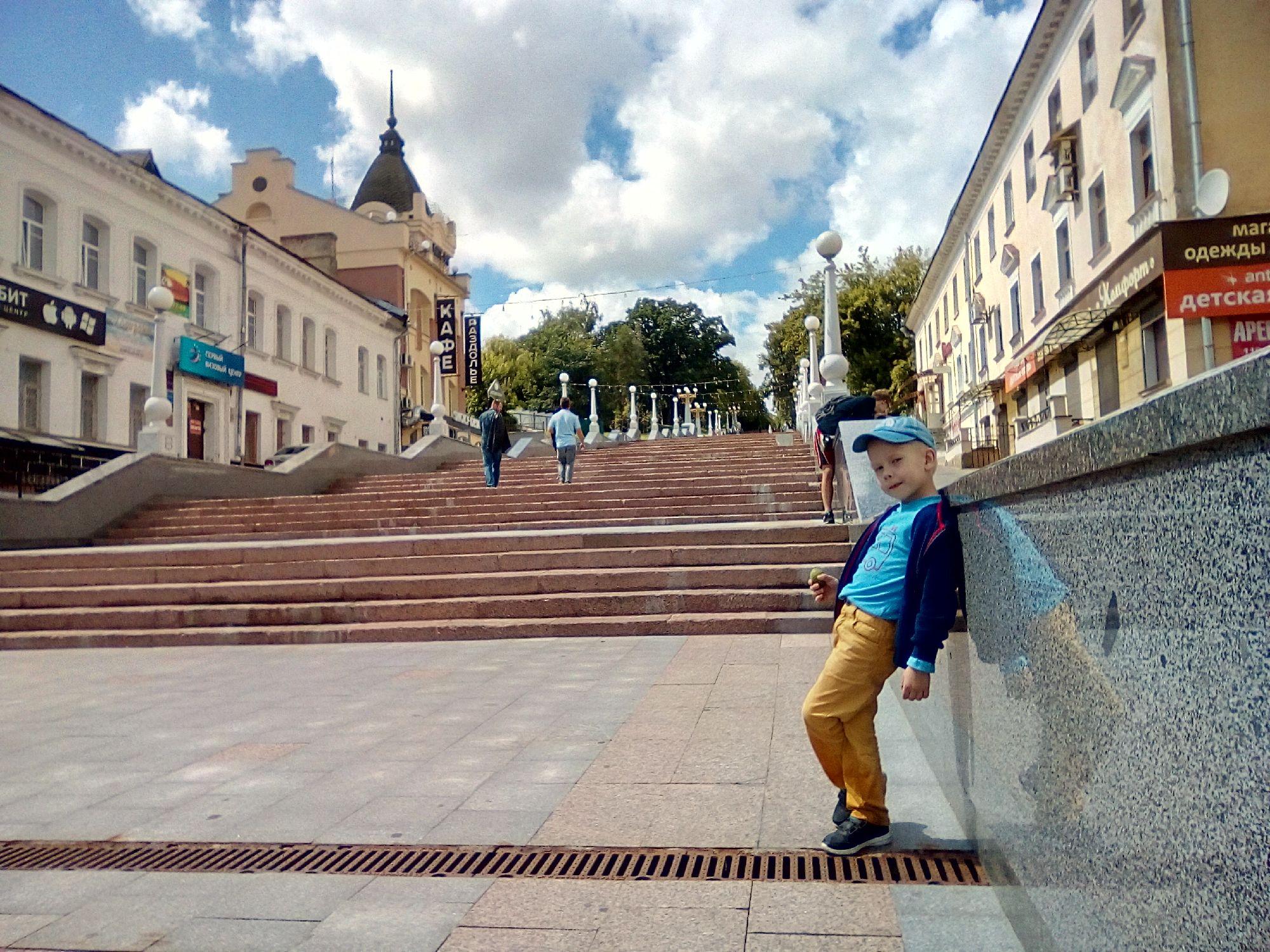 """""""Потемкинская лестница"""", г. Брянск"""