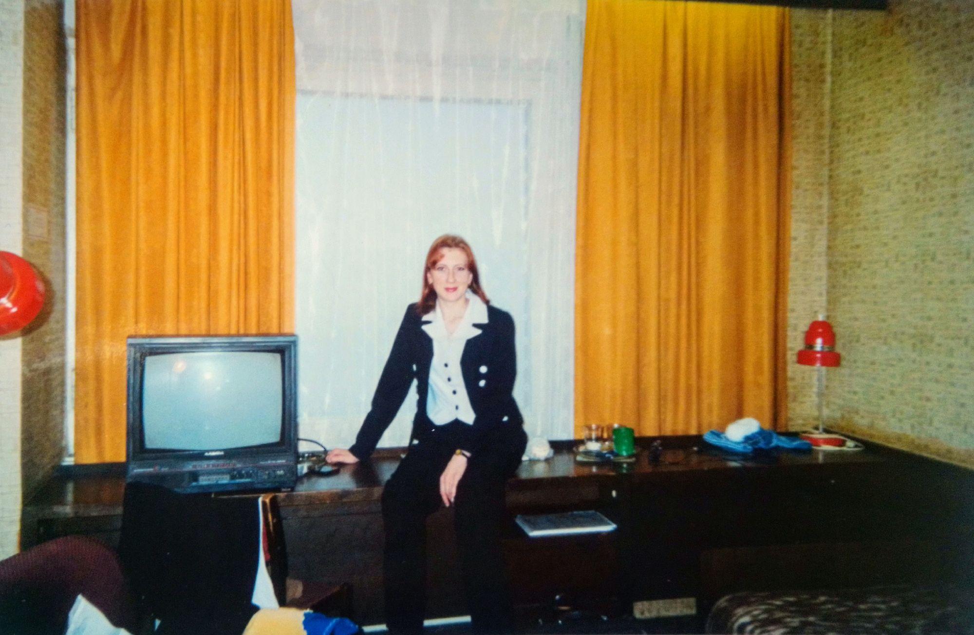 Двухместный номер в гостинице. 2000 год.
