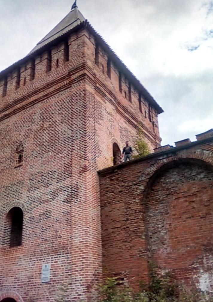 На башне Воронина