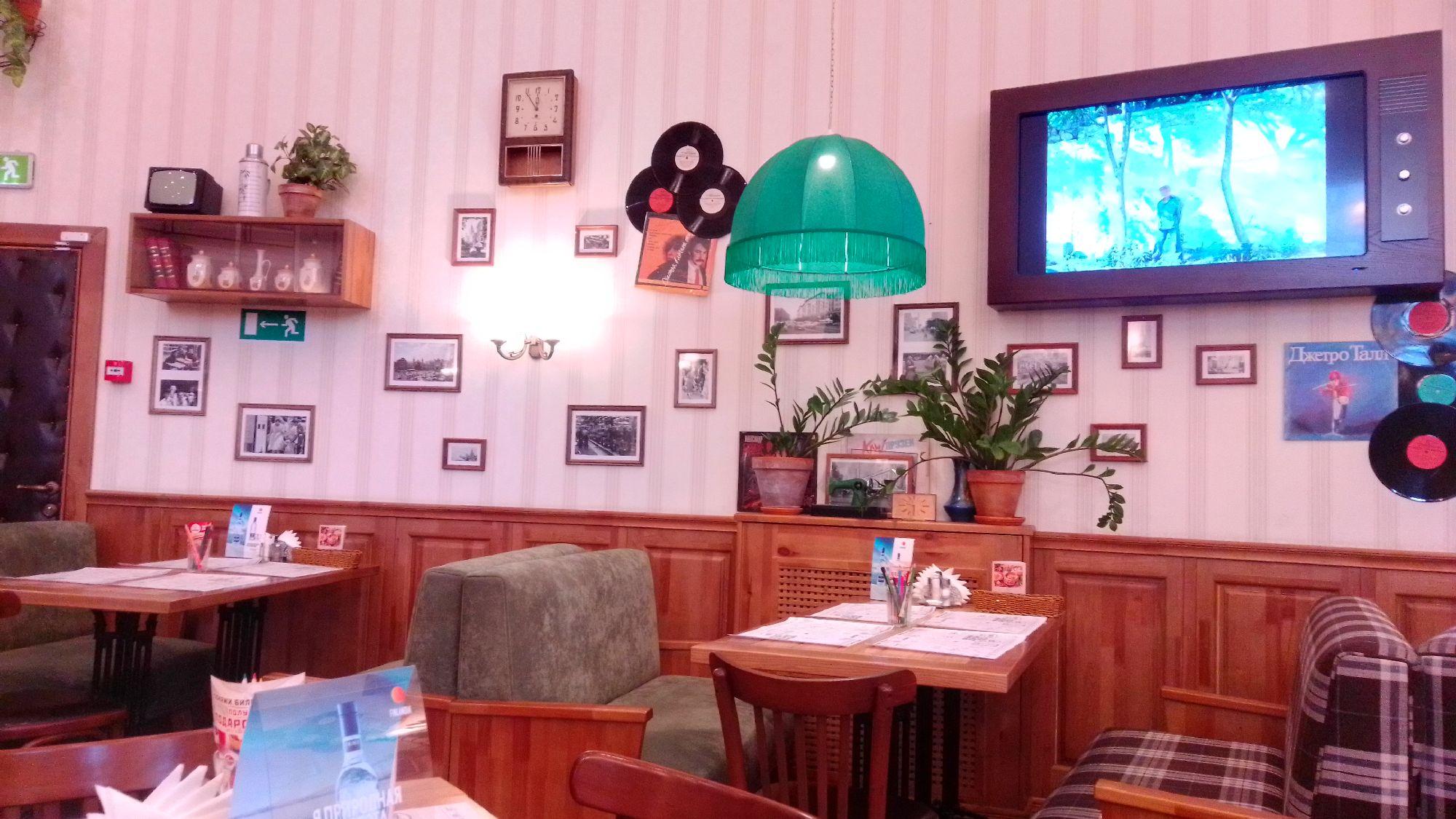 Внутри кафе