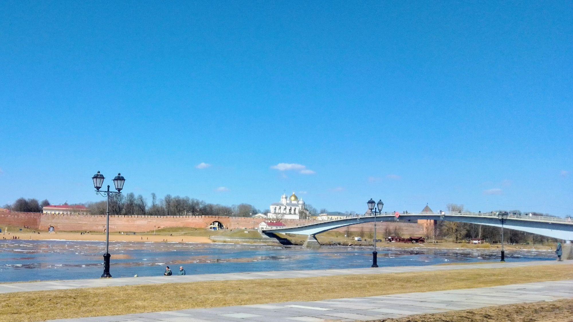 Великий Новгород. Апрель 2021