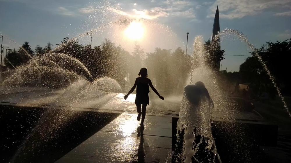 Тот самый фонтан в парке 300-летия Санкт-Петербурга