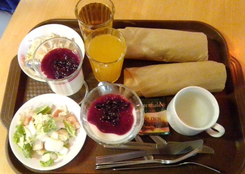 Ужин в столовой №1