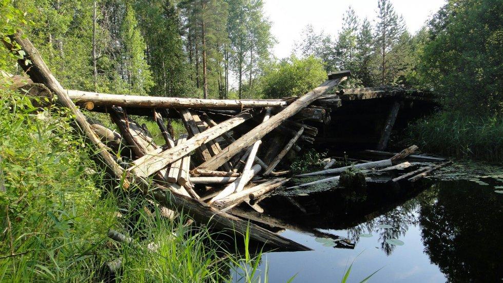 Вот так мост выглядит сейчас)