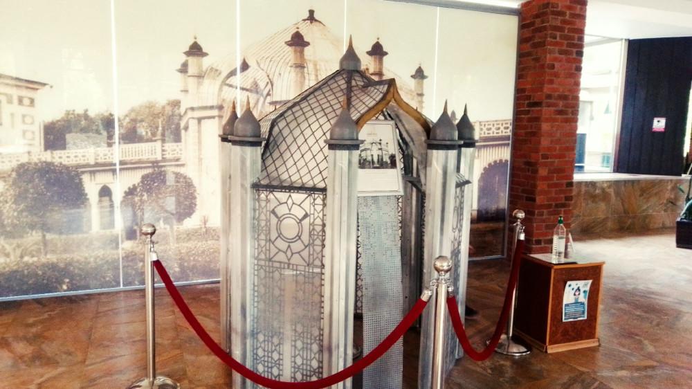 Макет шатра Муравьёвского фонтана