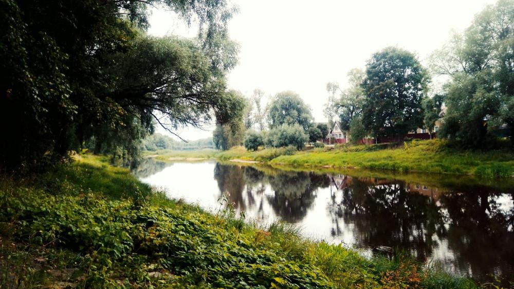 Речка у дома Достоевского