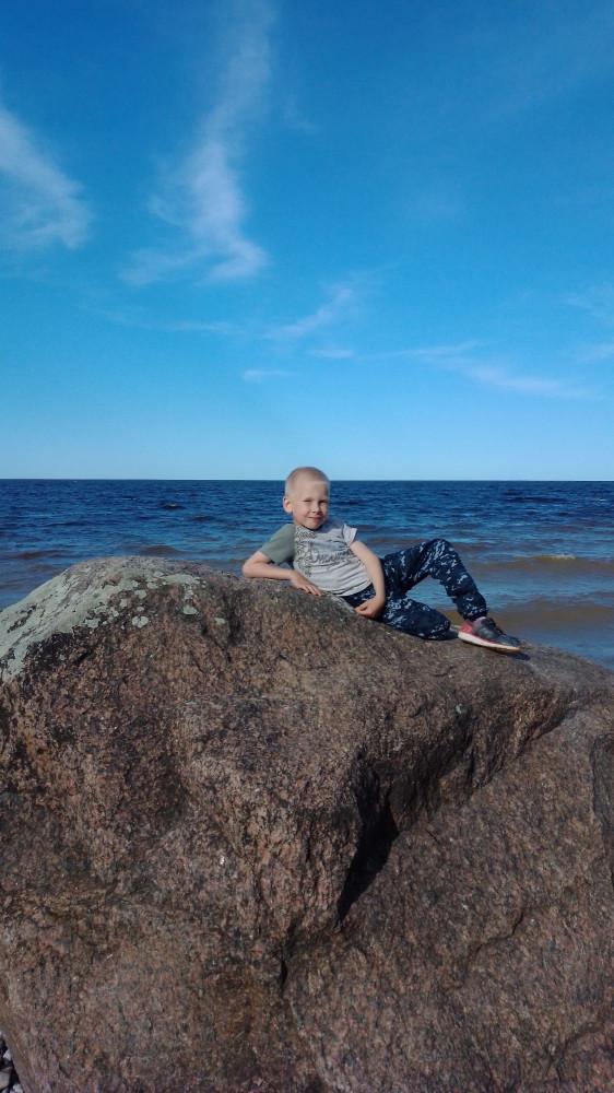 На берегу Ильмень - моря