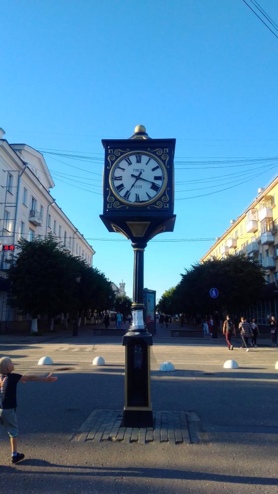 Часы на Трехсвятской