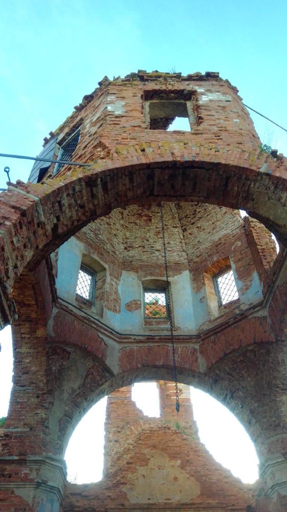 Церковь Знамения внутри