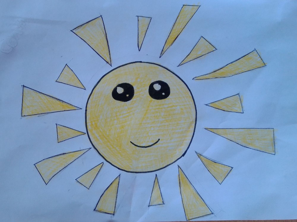 Рисунок ребёнка (мы-семья)