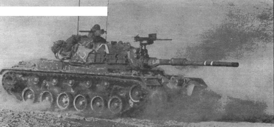Израильский танк М48