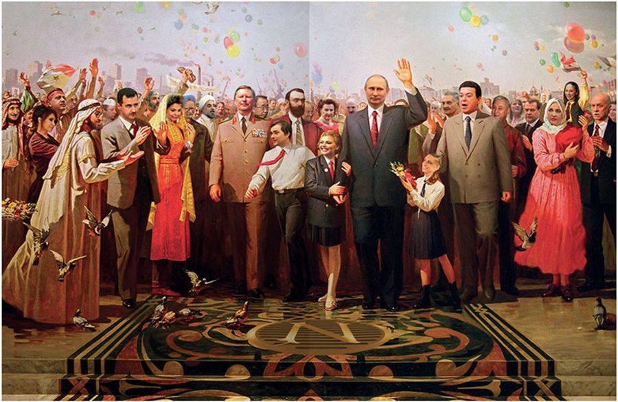 Сталинская тревого Путина