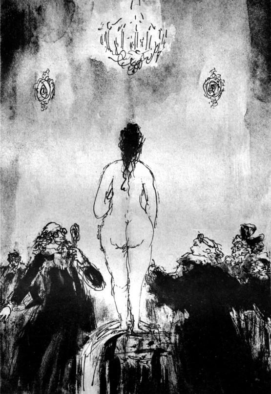 « Соколов М.К. – Иллюстрация к поэме Вольтера «Орлеанская девственница». Песнь III. 1934