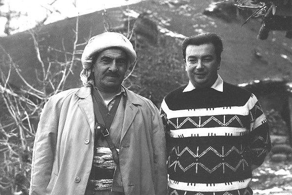 Евгений Примаков и Мустафа Барзани