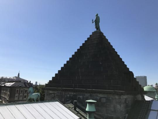 Вид с крыши Новой глиптотеки Карлсберга
