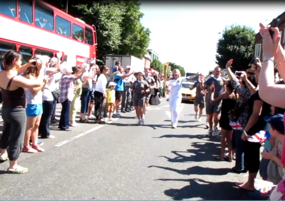 olympic torch isleworth