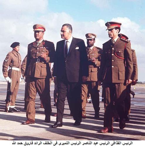Каддафи и Гамаль Насер. 257mg