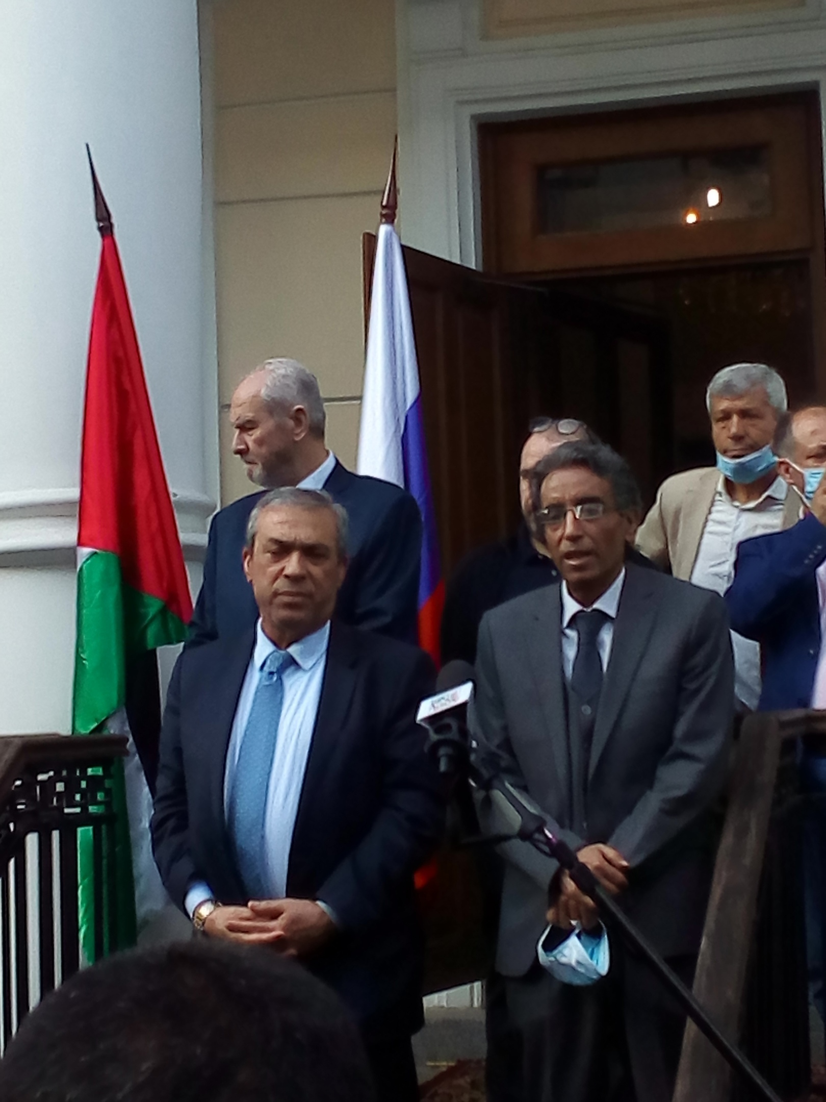 Посол Палестины в России Абдель Хафиз Нофаль