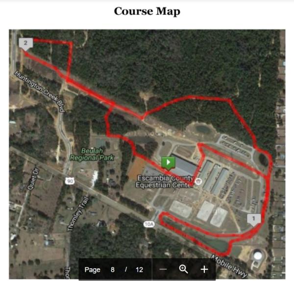 Wildcat Course Map