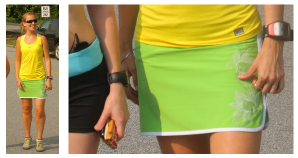 Шорты юбки для бега