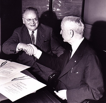 Рузвельт и Литвинов