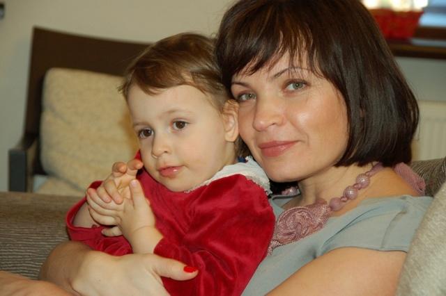 Соня с мамой