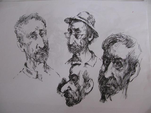 Рисунки Вениамина Клецеля.: avderin — LiveJournal