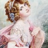 Lily Elsie In The Merry Widow, 1908 - Talbot Hughes