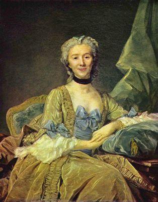 1749 Jeanne Baptiste Perronneau. Madame de Sorquainville