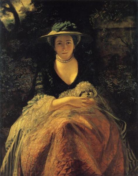 1762-64 Joshua Reynolds. Nelly O'Brien