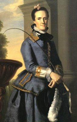 1764 John Singleton Copley. Mrs Epes Sargent Catherine Osborne 1764