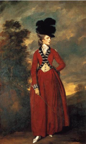 1776 Joshua Reynolds. Lady Worsley
