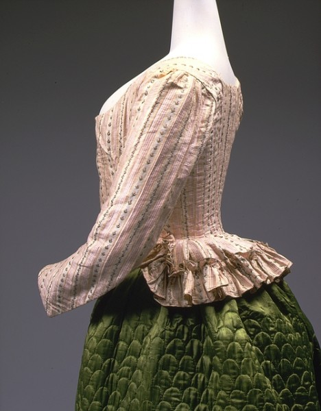 1785 Pierrot jacket side French Metmuseum