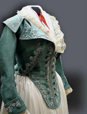 1790 aqua jacket