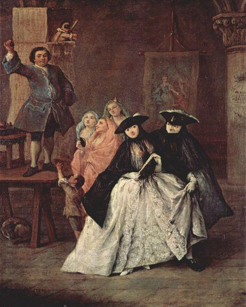 1757 Pietro Longhi. The Sharlatan